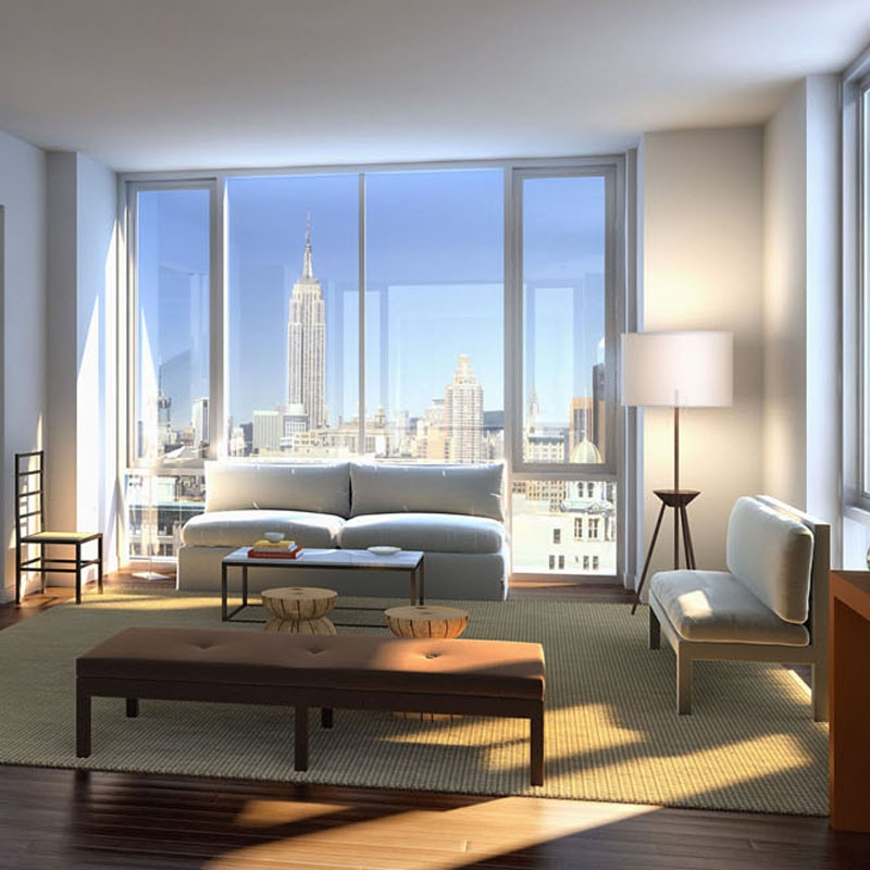 Julia Aulenbacher - Interiors +++ 4W21 Apartment Complex Chelsea New York