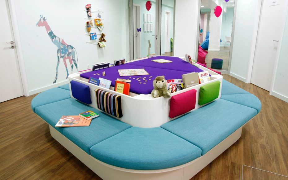 Julia Aulenbacher - Interiors +++ Children's Dentist Clinic Frankfurt 10