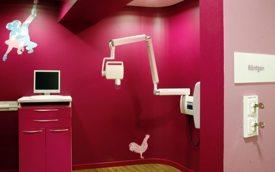 Julia Aulenbacher - Interiors +++ Children's Dentist Clinic Frankfurt 5