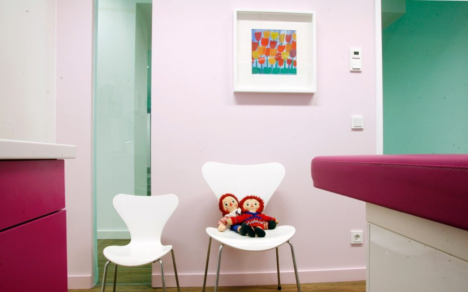 Julia Aulenbacher - Interiors +++ Children's Dentist Clinic Frankfurt 6