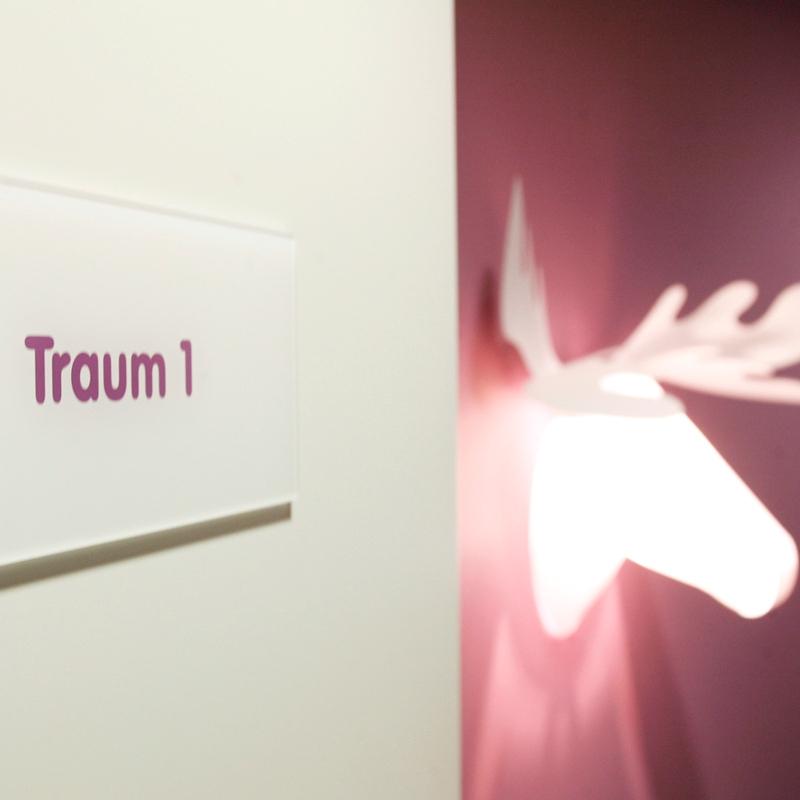 Julia Aulenbacher - Interiors +++ Children's Dentist Clinic Frankfurt
