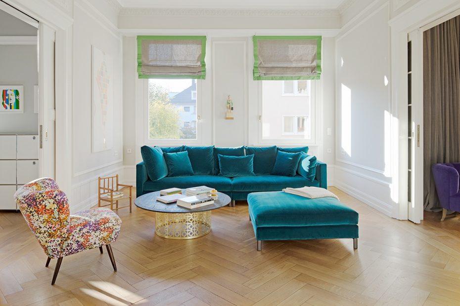 Julia Aulenbacher - Interiors +++ Colorful & Spacious Apt Frankfurt 3