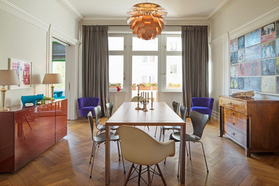 Julia Aulenbacher - Interiors +++ Colorful & Spacious Apt Frankfurt 4