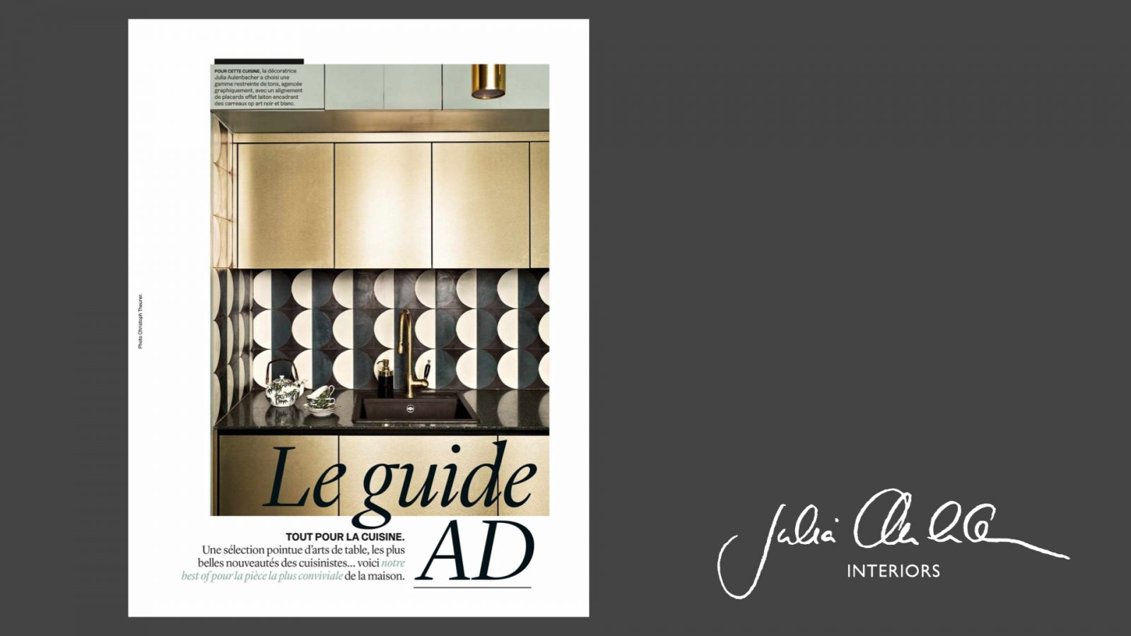 Julia Aulenbacher - Interiors +++ ad france