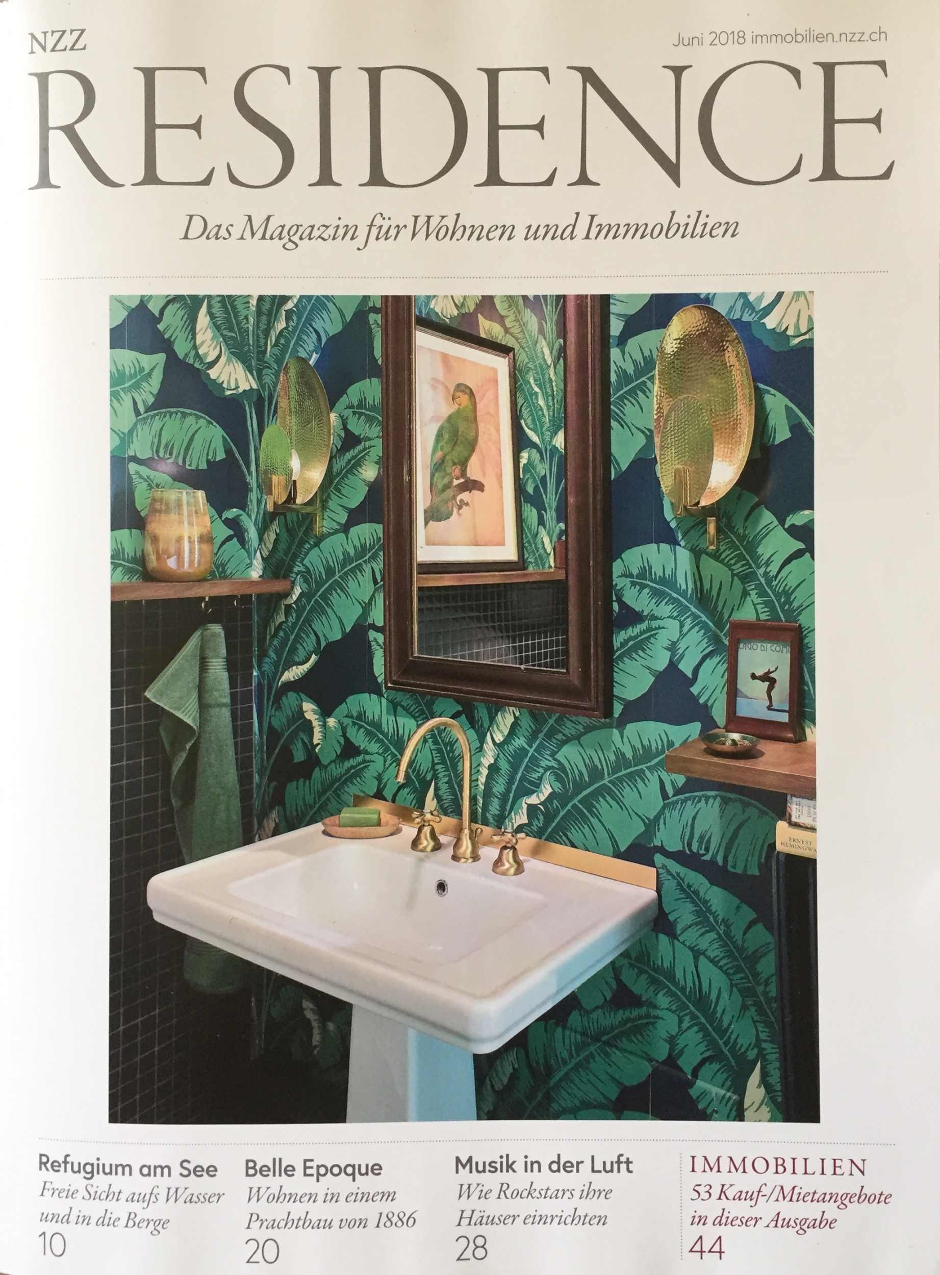 Julia Aulenbacher - Interiors +++ nzz residence 0