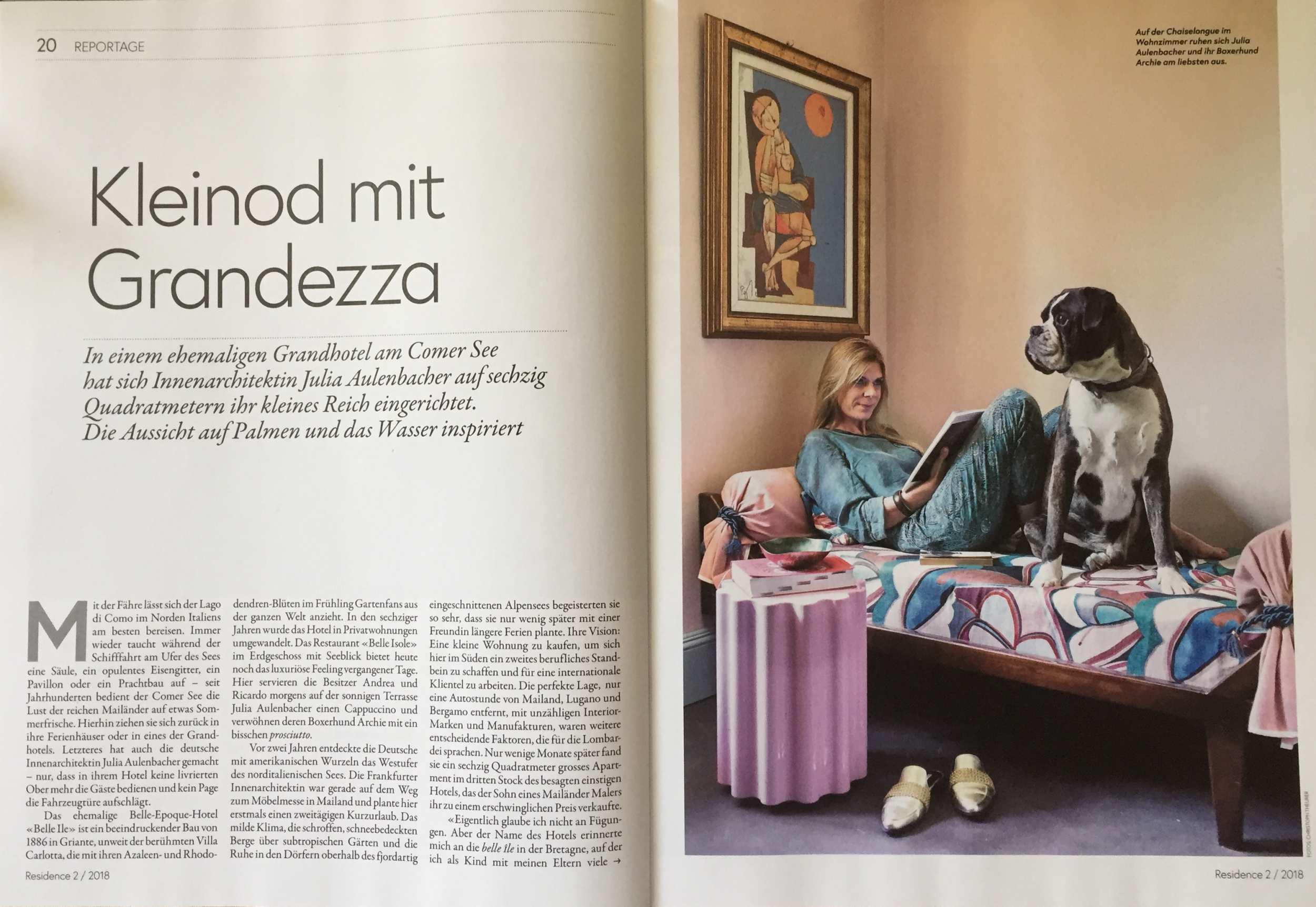 Julia Aulenbacher - Interiors +++ nzz residence 1