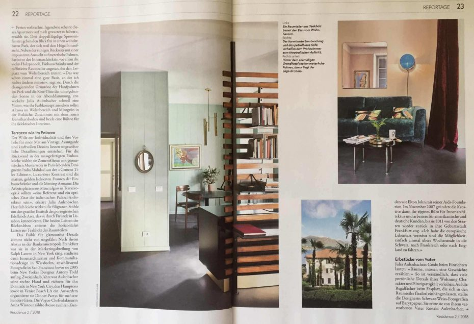 Julia Aulenbacher - Interiors +++ nzz residence 2