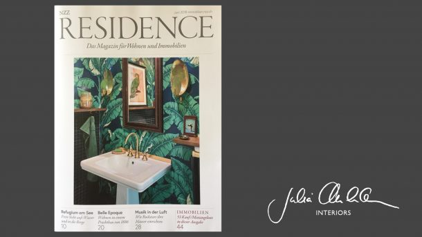 Julia Aulenbacher - Interiors +++ nzz residence
