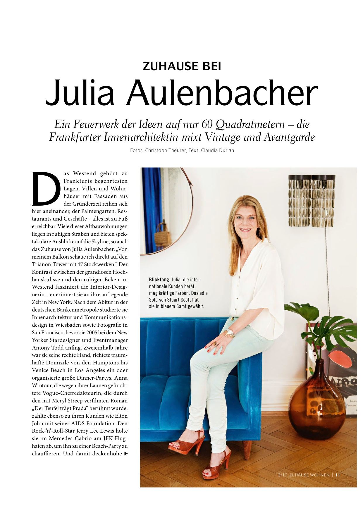 Julia Aulenbacher - Interiors +++ zu Hause wohnen 1