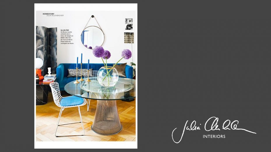 Julia Aulenbacher - Interiors +++ zu Hause wohnen