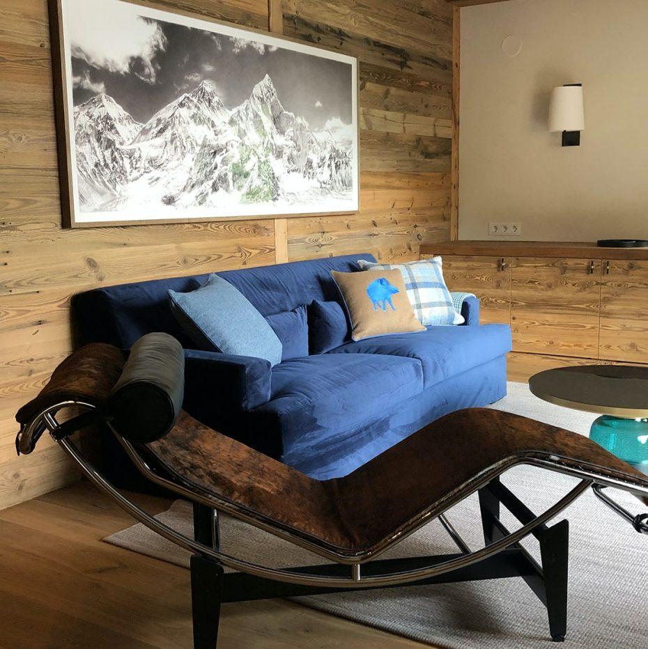 Julia Aulenbacher - Interiors +++ Das blaue Chalet Lech 13