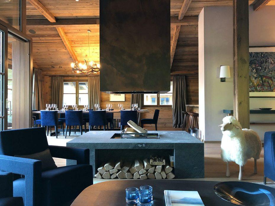 Julia Aulenbacher - Interiors +++ Das blaue Chalet Lech 2