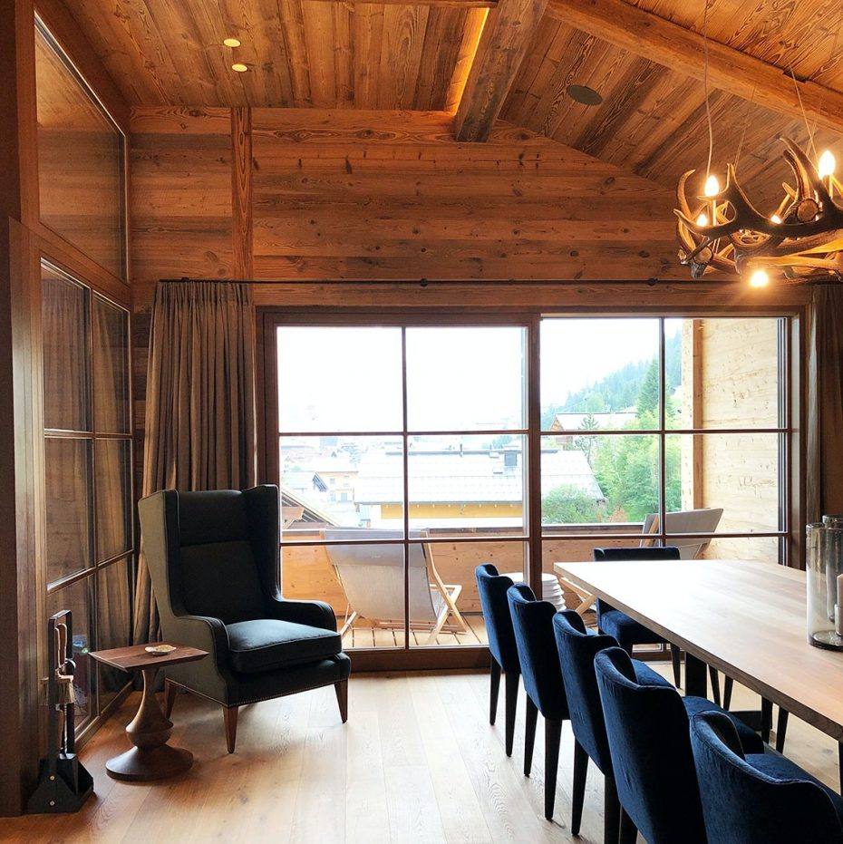Julia Aulenbacher - Interiors +++ Das blaue Chalet Lech 6
