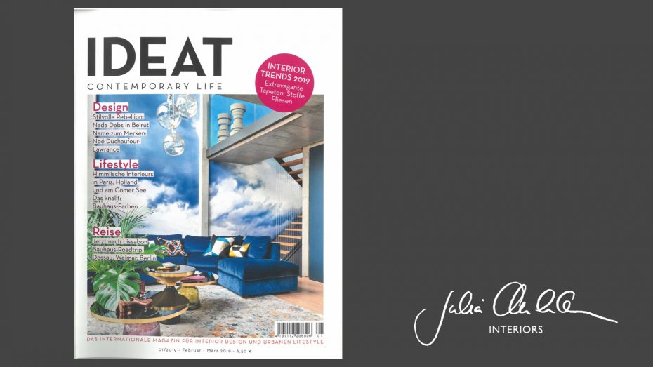 Julia Aulenbacher - Interiors +++ IDEAT
